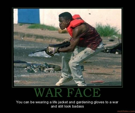 War face life jacket soldier