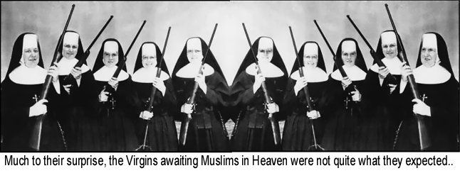 Virgins armed in Heaven