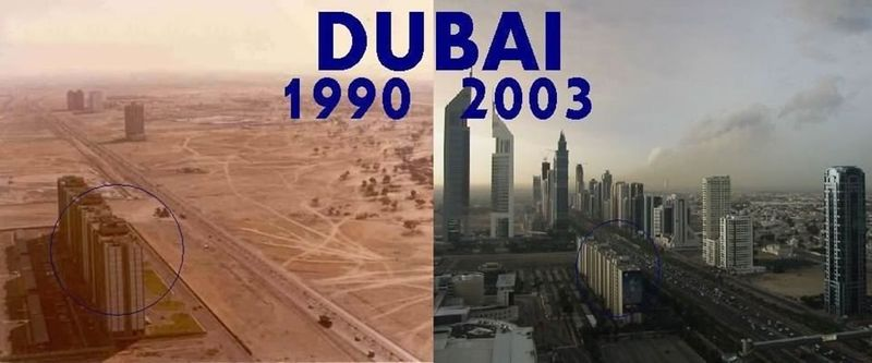 Dubai 1990 to 2003