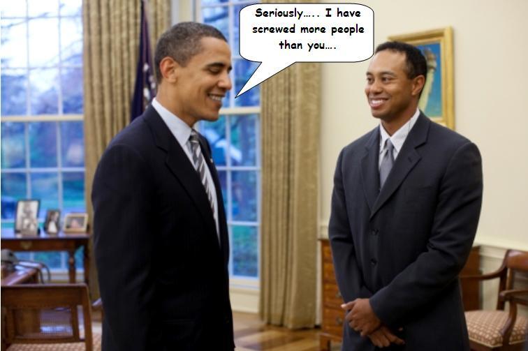 Obama Tiger Woods people screwed
