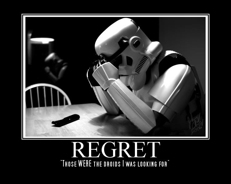 Starwars regret