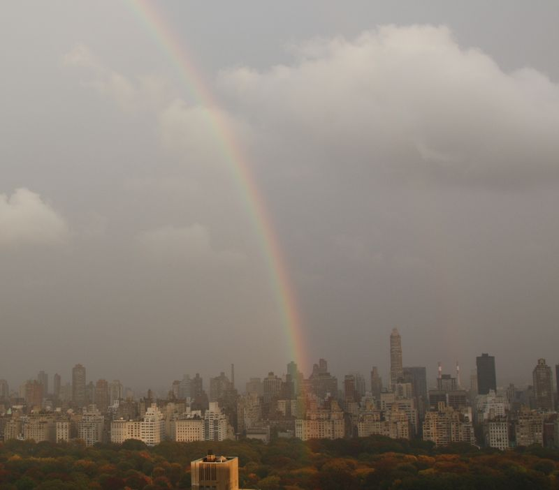 Nyc autumn rainbow 003