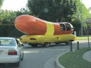 Weiner getaway car