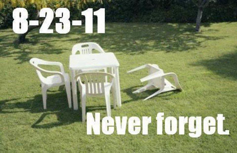 East Coast earthquake