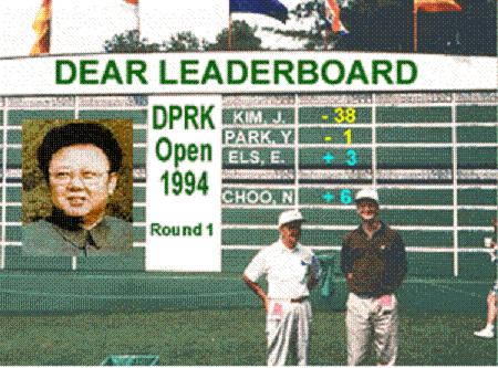 Kim Jong Il golf tournament