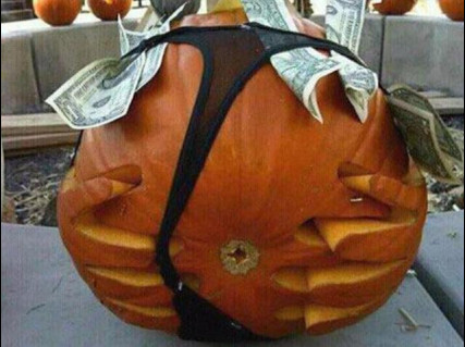 Patricks pumpkin halloween