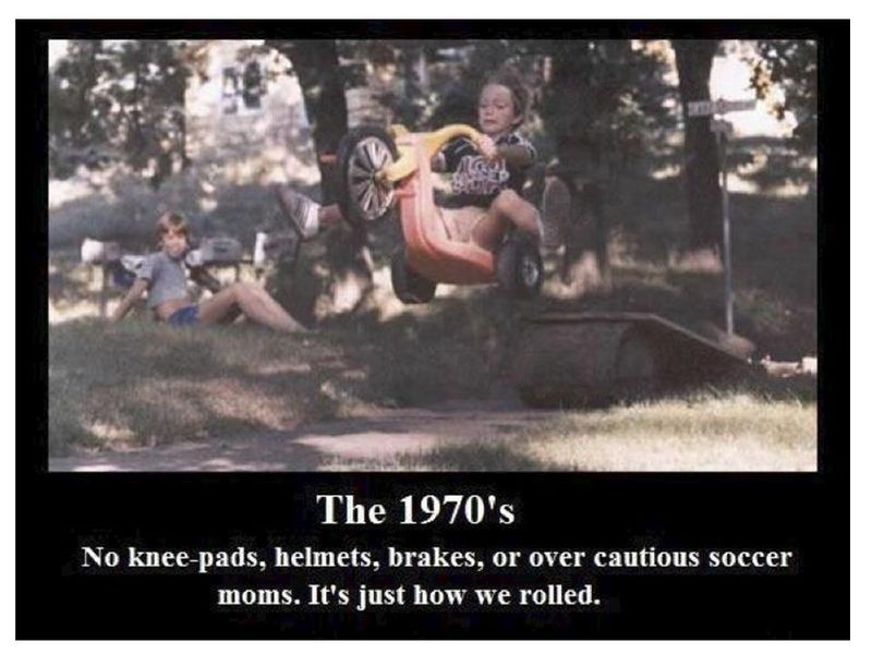 The 1970s - that's how we rolled