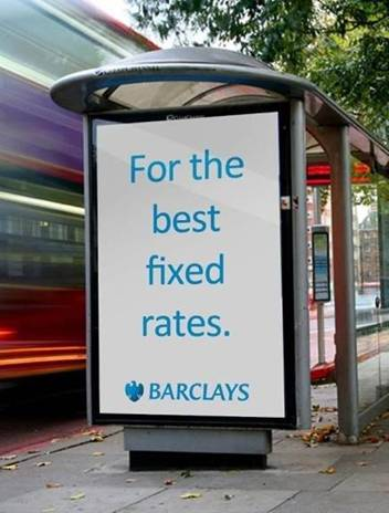 Barclays LIBOR ad fixed rate