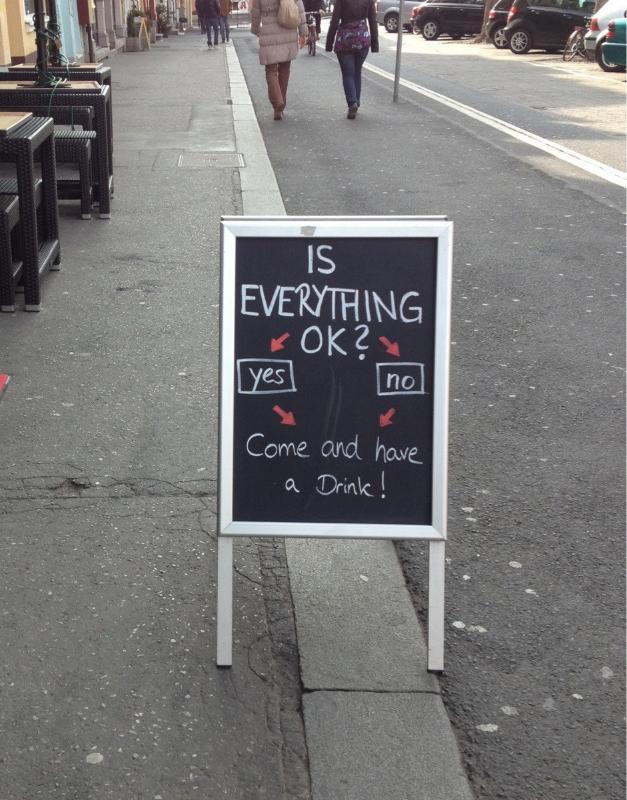 Pub signs funny
