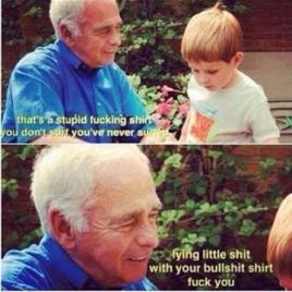 Surf grandpa