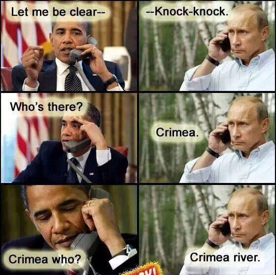 Crimea Knock Knock joke