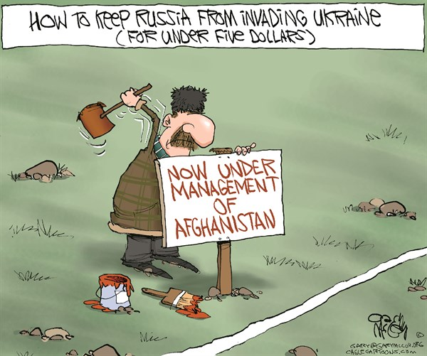 Ukraine Russia Afghanistan