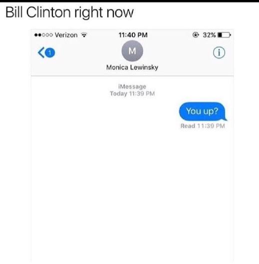 Clinton Lewinski text