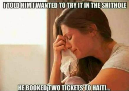 Haiti Shithole