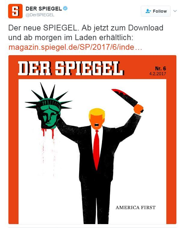 German Press Trump