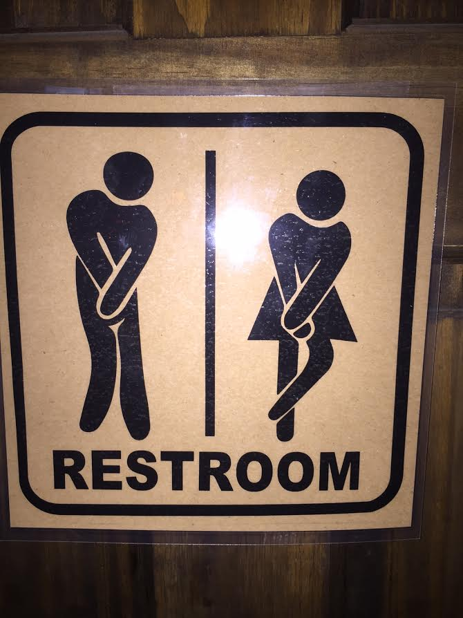 Bathroom sign NYC