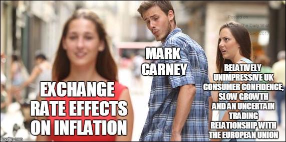 BOE Carney inflation joke