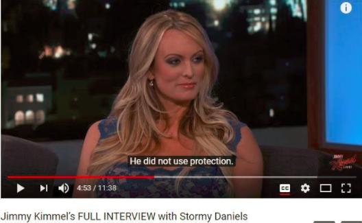 Stormy Daniels Trump Kimmell