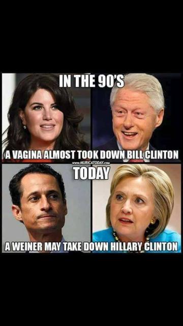 Weiner Clinton