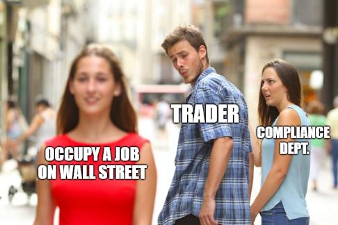 Occupy a job on Wall Street meme