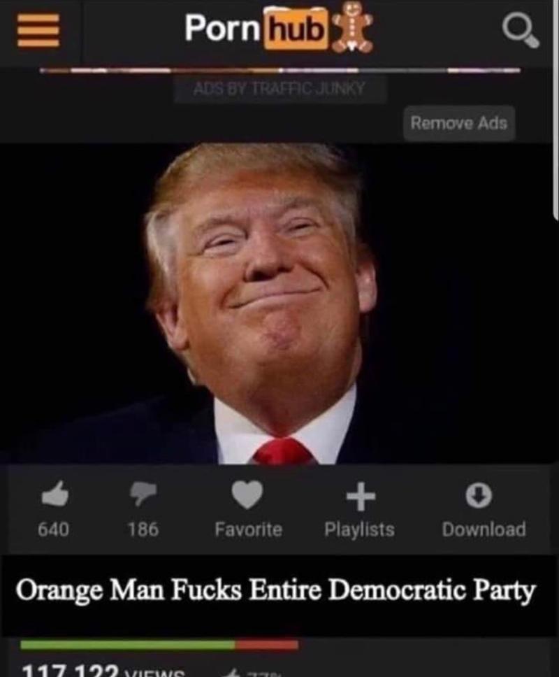Trump pornhub