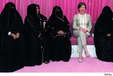 Laura_bush_burka
