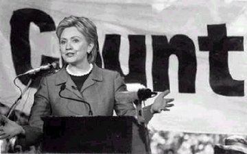 Clinton_cunt_banner